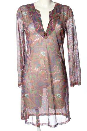 Andres Sarda Sukienka plażowa Abstrakcyjny wzór W stylu casual