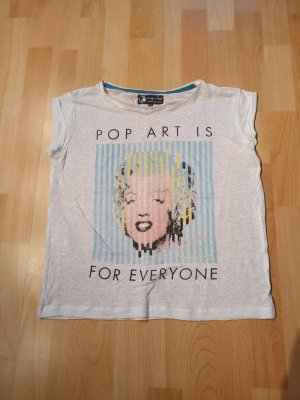Andy Warhol by Pepe Jeans London Camiseta estampada blanco-negro