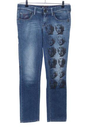 Andy Warhol by Pepe Jeans London Vaquero de corte bota azul-negro look casual