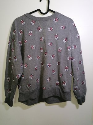 Andy Warhol by Pepe Jeans London Sweat Shirt dark grey-bordeaux cotton
