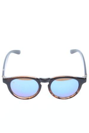 Andy Wolf Eyewear Gafas panto negro-marrón degradado de color look casual