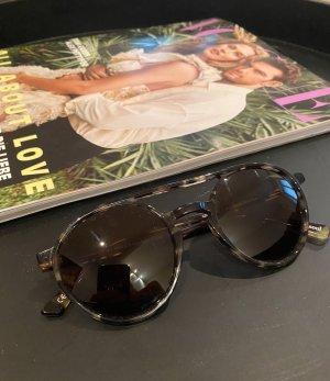 Andy Wolf Eyewear Round Sunglasses multicolored acetate