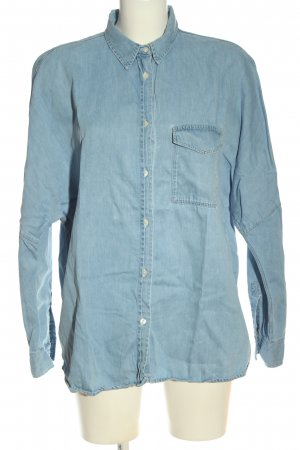 Anecdote Camicia denim blu stile casual