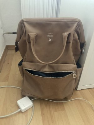 Anello School Backpack light brown-brown