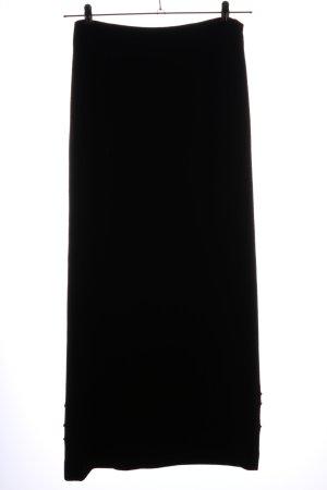 Anett Röstel Knitted Skirt black new wool