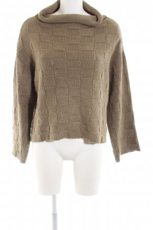 Anette Görtz Coarse Knitted Sweater brown casual look