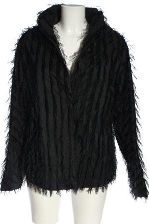 Anette Görtz Short Blazer black striped pattern casual look