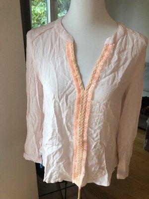 Ange Paris Camicetta a maniche lunghe rosa pallido