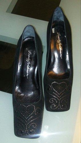 Beverly Feldman Loafers black mixture fibre