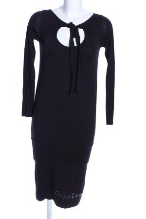 Angel Devil Longsleeve Dress black casual look