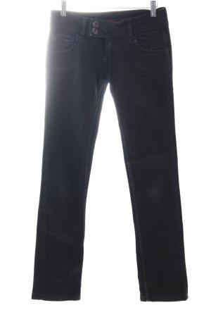 Angel Devil Skinny Jeans black casual look