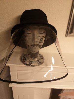 Chic Tweak Miękki kapelusz z szerokim opuszczonym rondem czarny