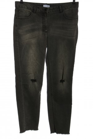 Angel of Style Jeans slim fit nero stile casual