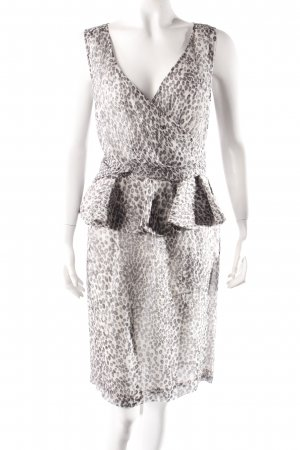 Angel Schlesser Cocktailkleid Animalprint