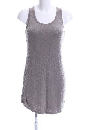 Angela Davis Lange top lichtgrijs-zilver volledige print casual uitstraling
