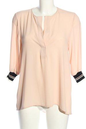 Angela Davis Slip-over Blouse pink-black casual look