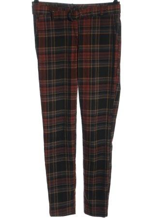 Angela Davis Spodnie materiałowe Wzór w kratkę W stylu casual