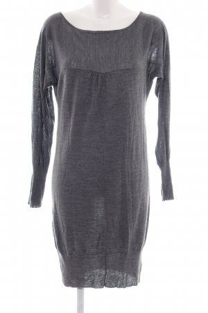 Angela Davis Knitted Dress light grey casual look