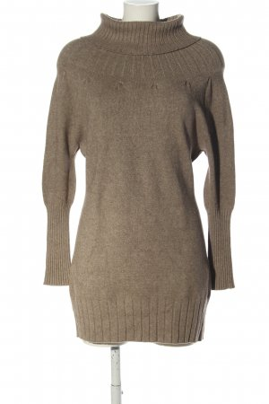 Angela Davis Strickkleid braun meliert Casual-Look