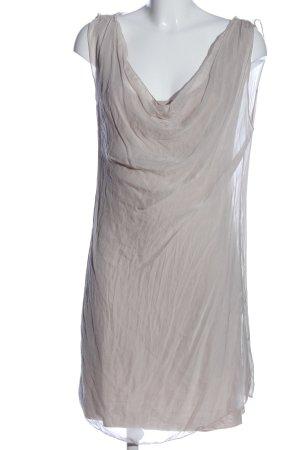 Angela Davis Abito scamiciato grigio chiaro elegante