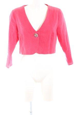 Kurz-Blazer pink Casual-Look