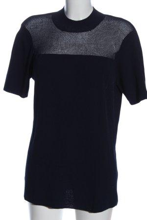 Angela Molino for stottrop Pull à manches courtes bleu-gris clair