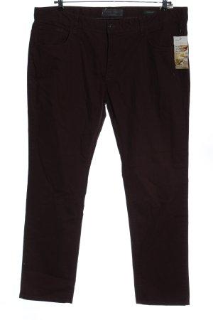 angelo litrico Jeans 7/8 noir style décontracté