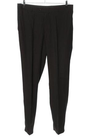 angelo litrico Pantalon zwart zakelijke stijl