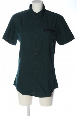 angelo litrico Short Sleeve Shirt turquoise casual look
