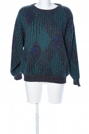 angelo litrico Oversized Sweater check pattern casual look