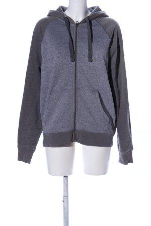 angelo litrico Sweat Jacket light grey flecked casual look