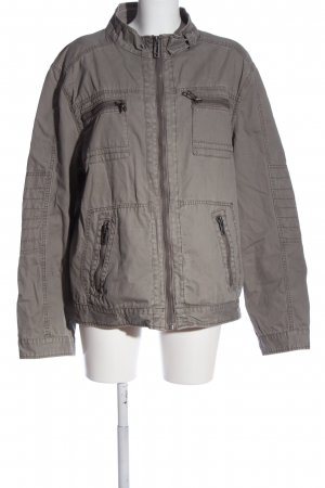angelo litrico Between-Seasons Jacket light grey casual look