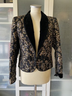 Vintage Love Blazer smoking oro-nero