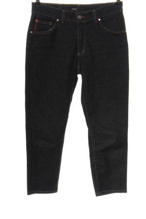 Angels Jeans 7/8 noir moucheté style décontracté