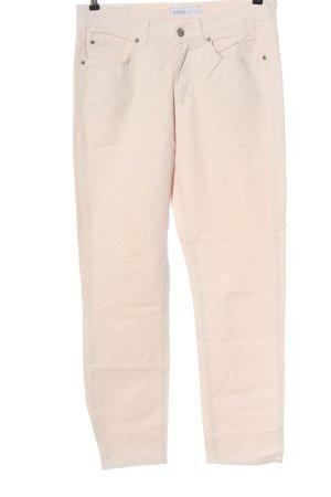 Angels Pantalon cinq poches crème style décontracté
