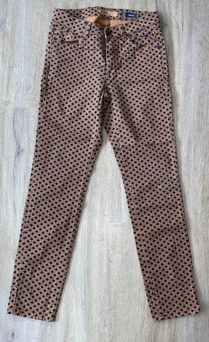 Angels Pantalone cinque tasche multicolore Cotone