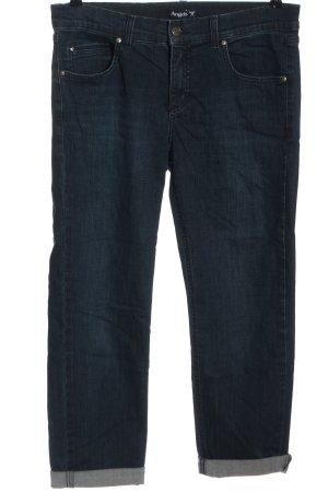 Angels Jeans a vita alta blu stile casual