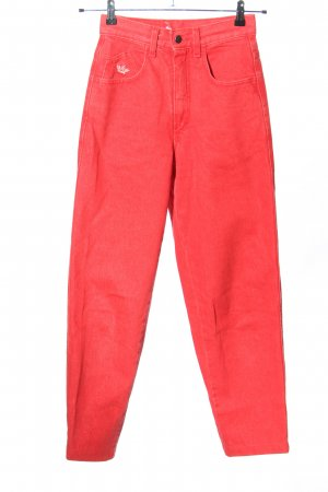 Angels High Waist Jeans rot Casual-Look