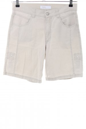Angels High-Waist-Shorts wollweiß Casual-Look