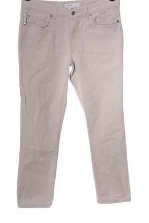 Angels Spodnie biodrówki w kolorze białej wełny W stylu casual
