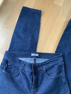 angels jeans Jeansy rurki niebieski neonowy