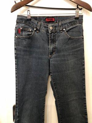 Angels Jeans coupe-droite bleu