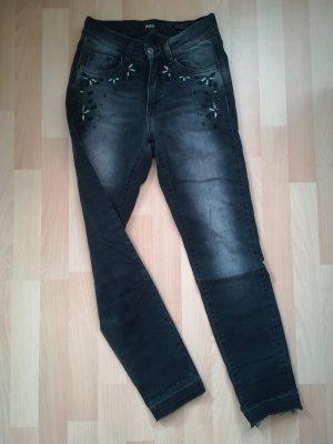Angels Skinny jeans grijs-donkergrijs