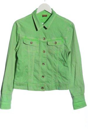 Angels Jeansowa kurtka zielony W stylu casual