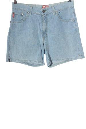 Angels Short en jean bleu style décontracté