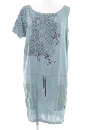 Angels Never Die One-Shoulder-Kleid blassblau Mustermix Nietenelemente