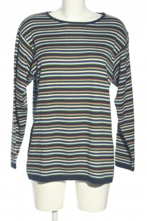 Angels Crewneck Sweater striped pattern casual look