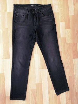 Angels Skinny jeans zwart Gemengd weefsel