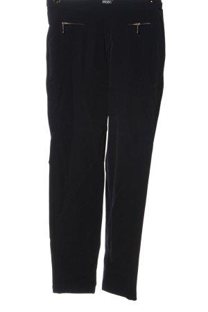 Angels Pantalone jersey nero stile casual