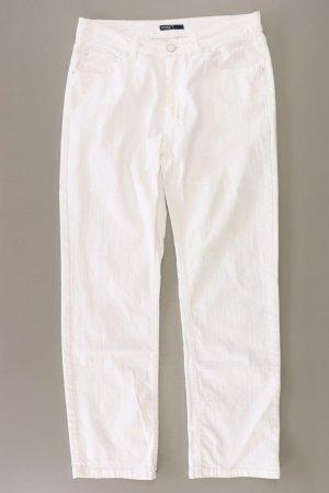 Angels Jeansy z prostymi nogawkami w kolorze białej wełny Bawełna